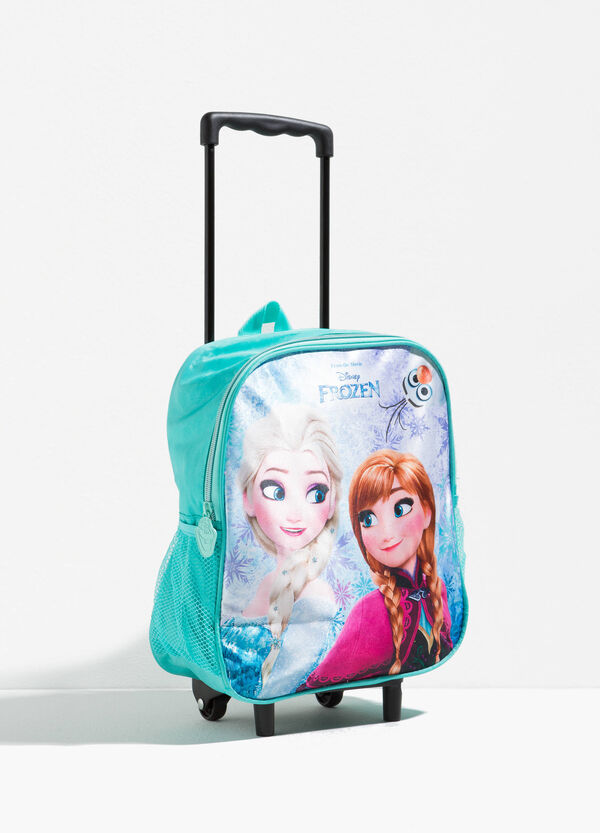 Trolley backpack with maxi Frozen print | OVS