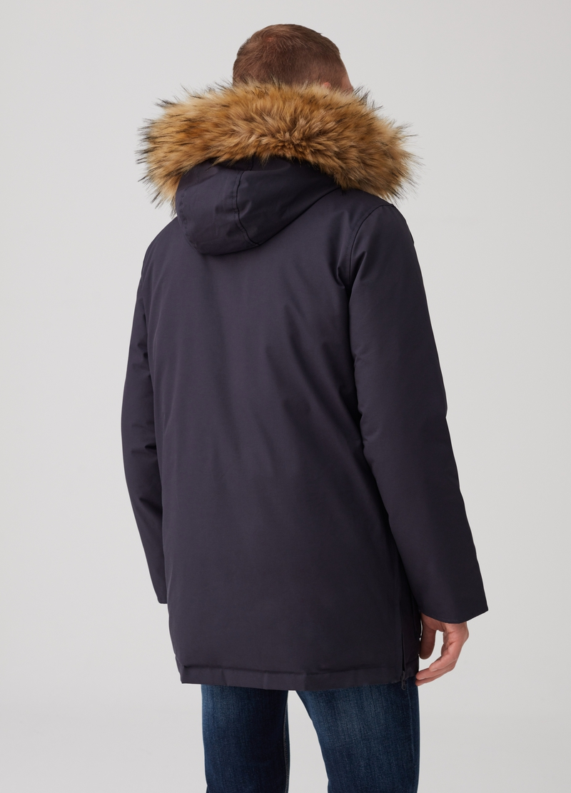 Altavia parka with hood and pockets image number null