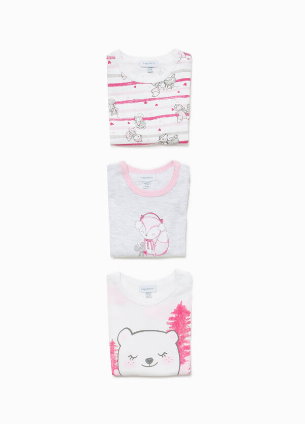 Three-pack bodysuits in 100% cotton | OVS