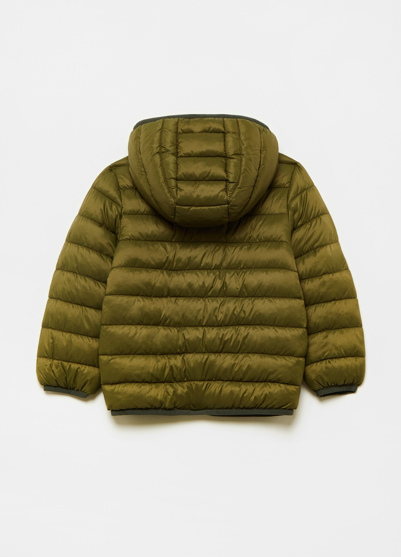 Ultralight down jacket with hood and zip image number null