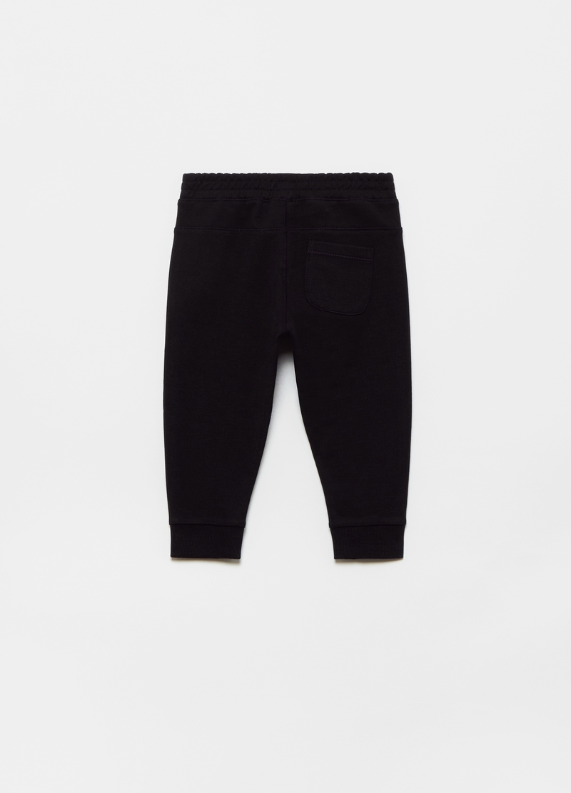 100% organic cotton French terry joggers image number null