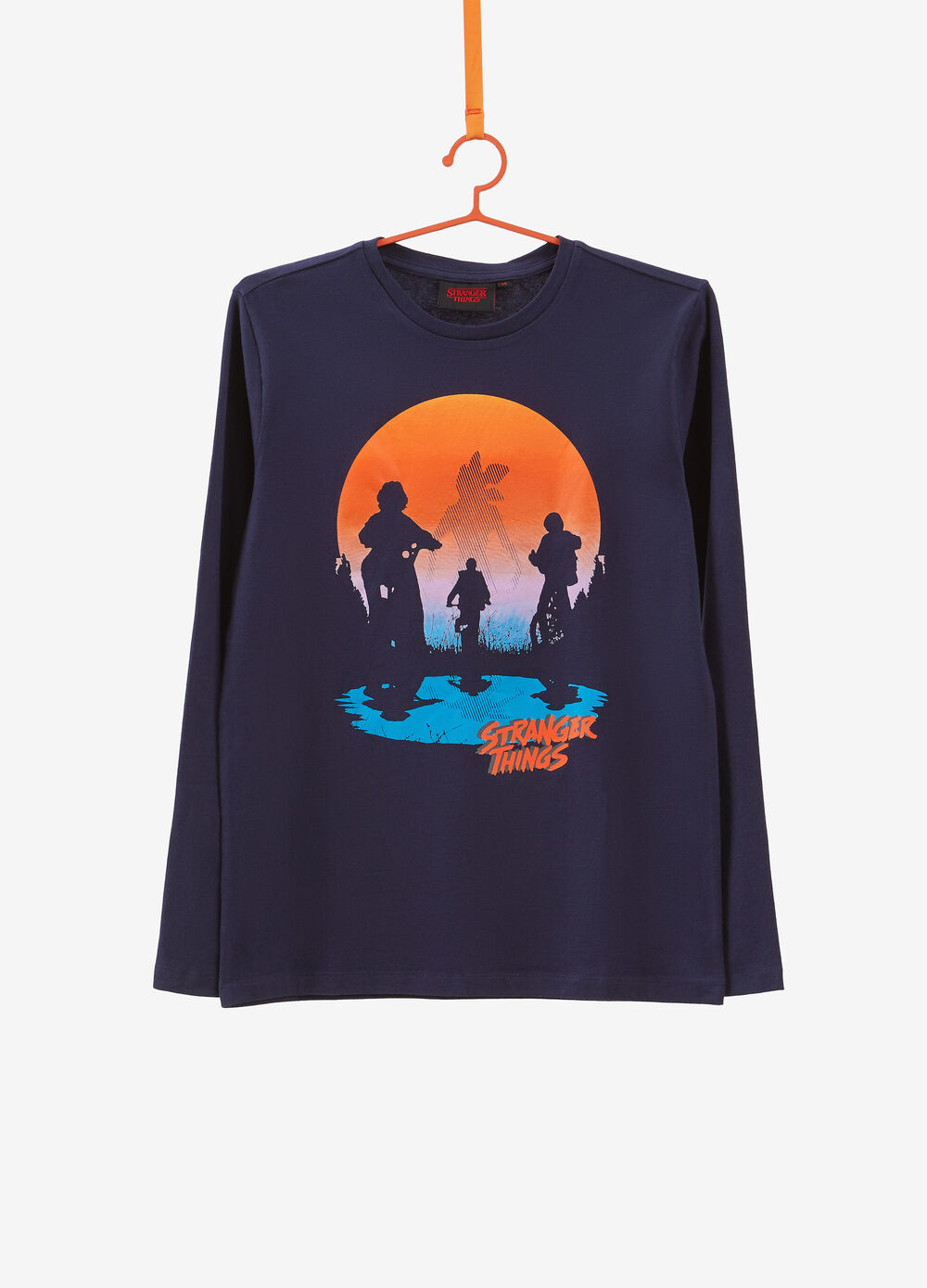 T-shirt in puro cotone Stranger Things