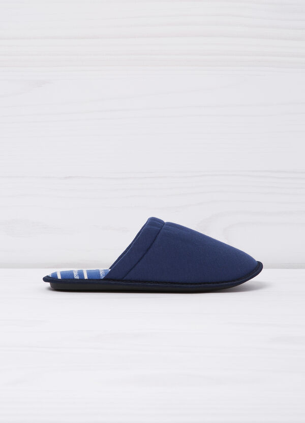 Slippers with striped lining | OVS