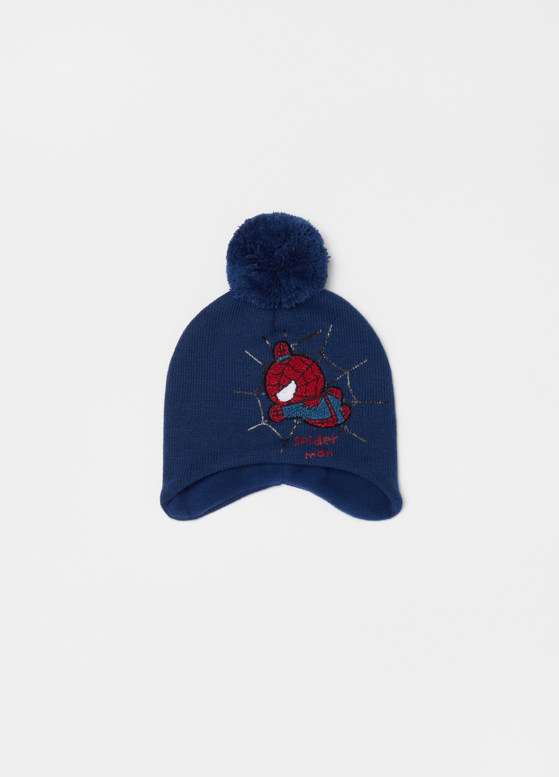 Marvel Spider-Man hat with pompom image number null