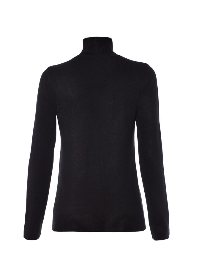 Pullover collo alto Smart Basic