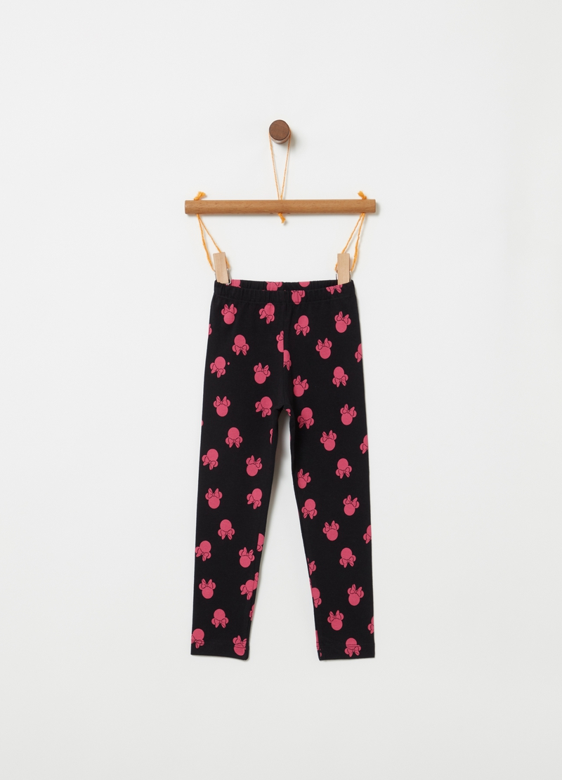 Leggings cotone stretch Mickey Mouse image number null