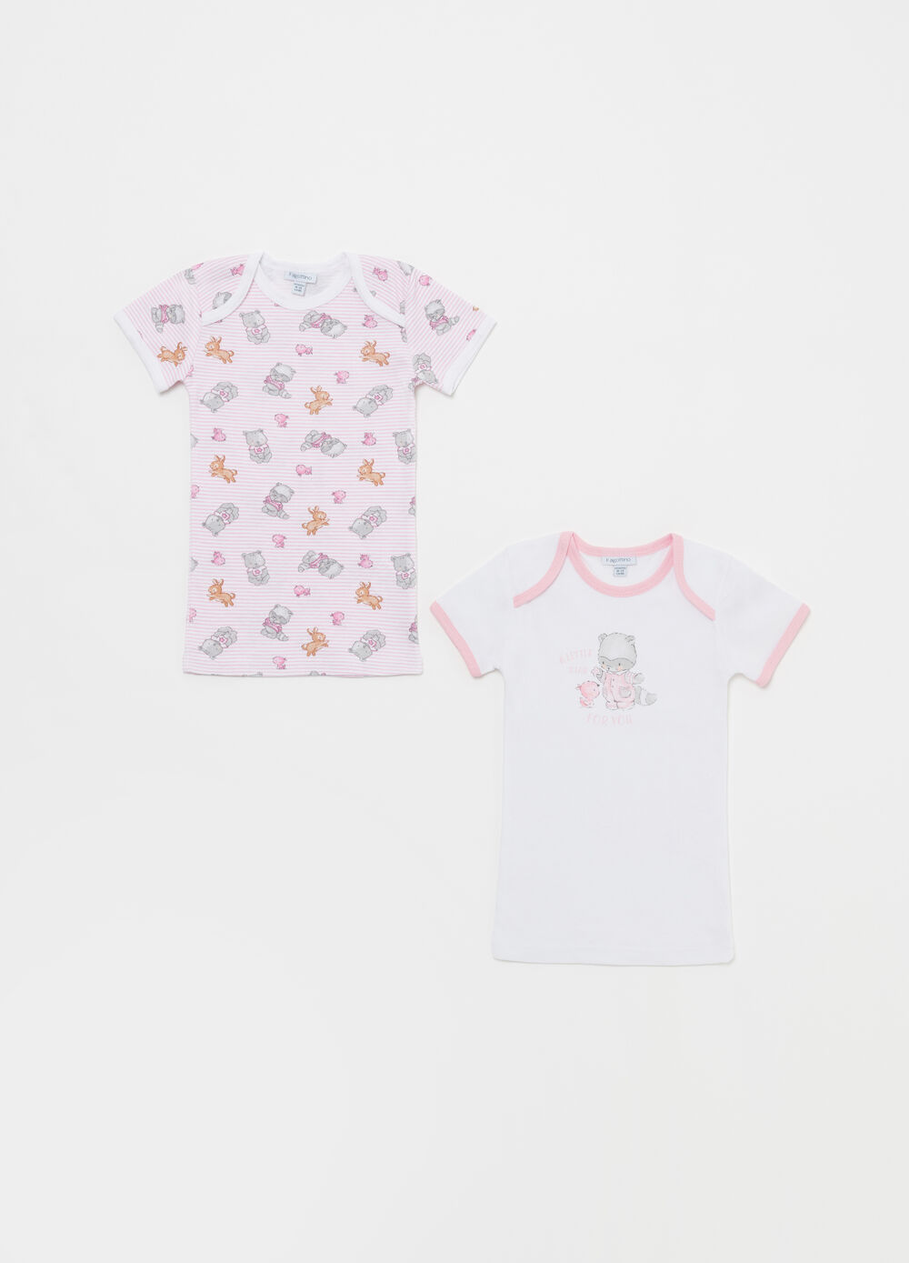 Set due t-shirt intime animaletti