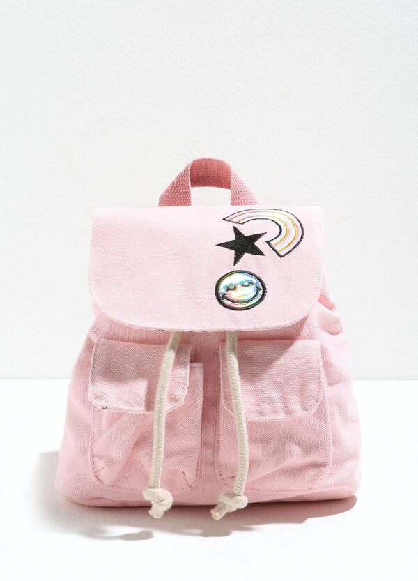 Backpack with patches and flap | OVS