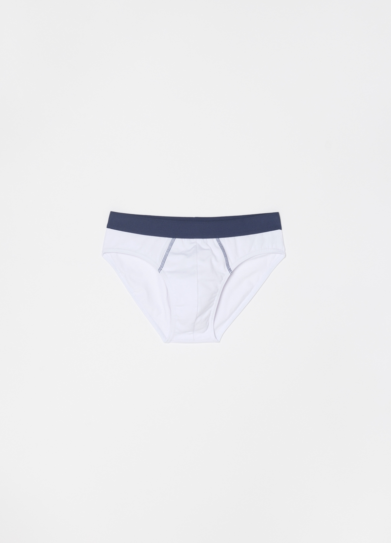 Two-pack briefs in stretch organic cotton image number null