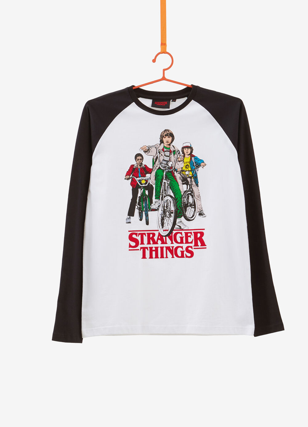 100% cotton T-shirt with Stranger Things print