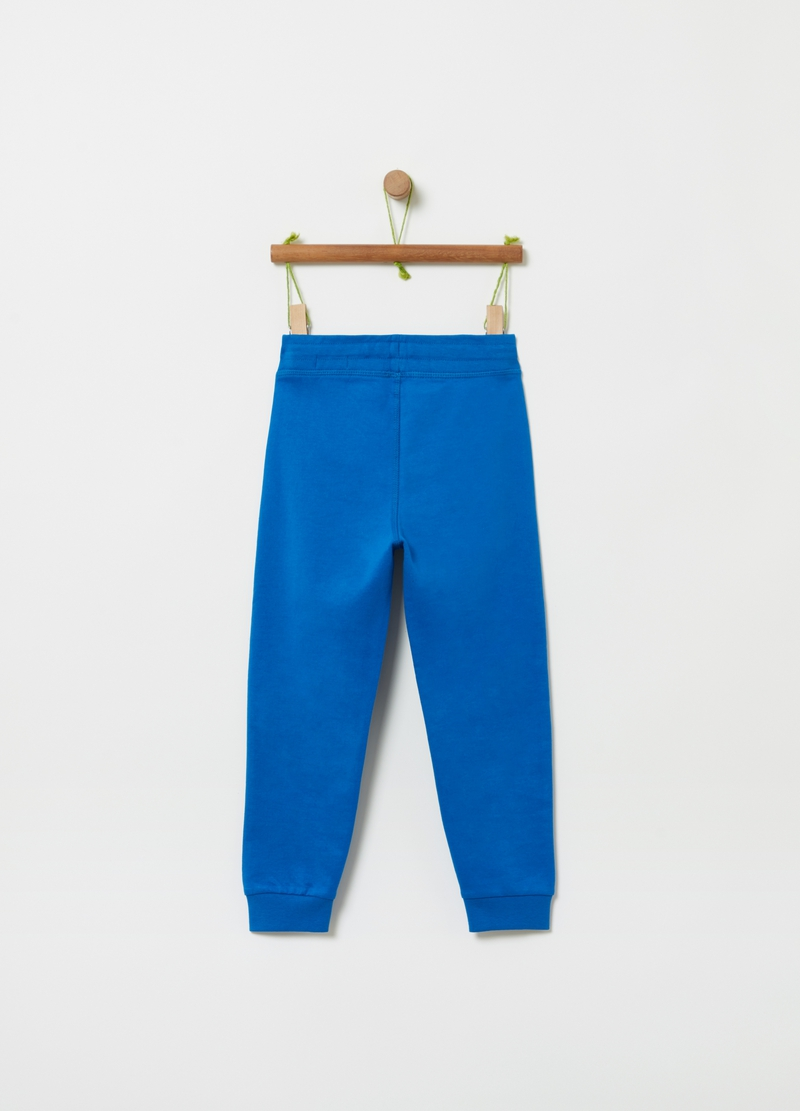 Joggers French Terry con coulisse image number null