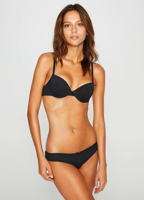 Two-pack stretch cotton bras | OVS