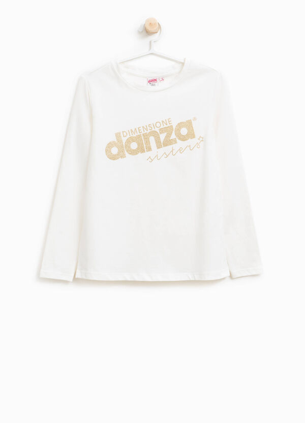 T-shirt viscosa stretch Dimensione Danza