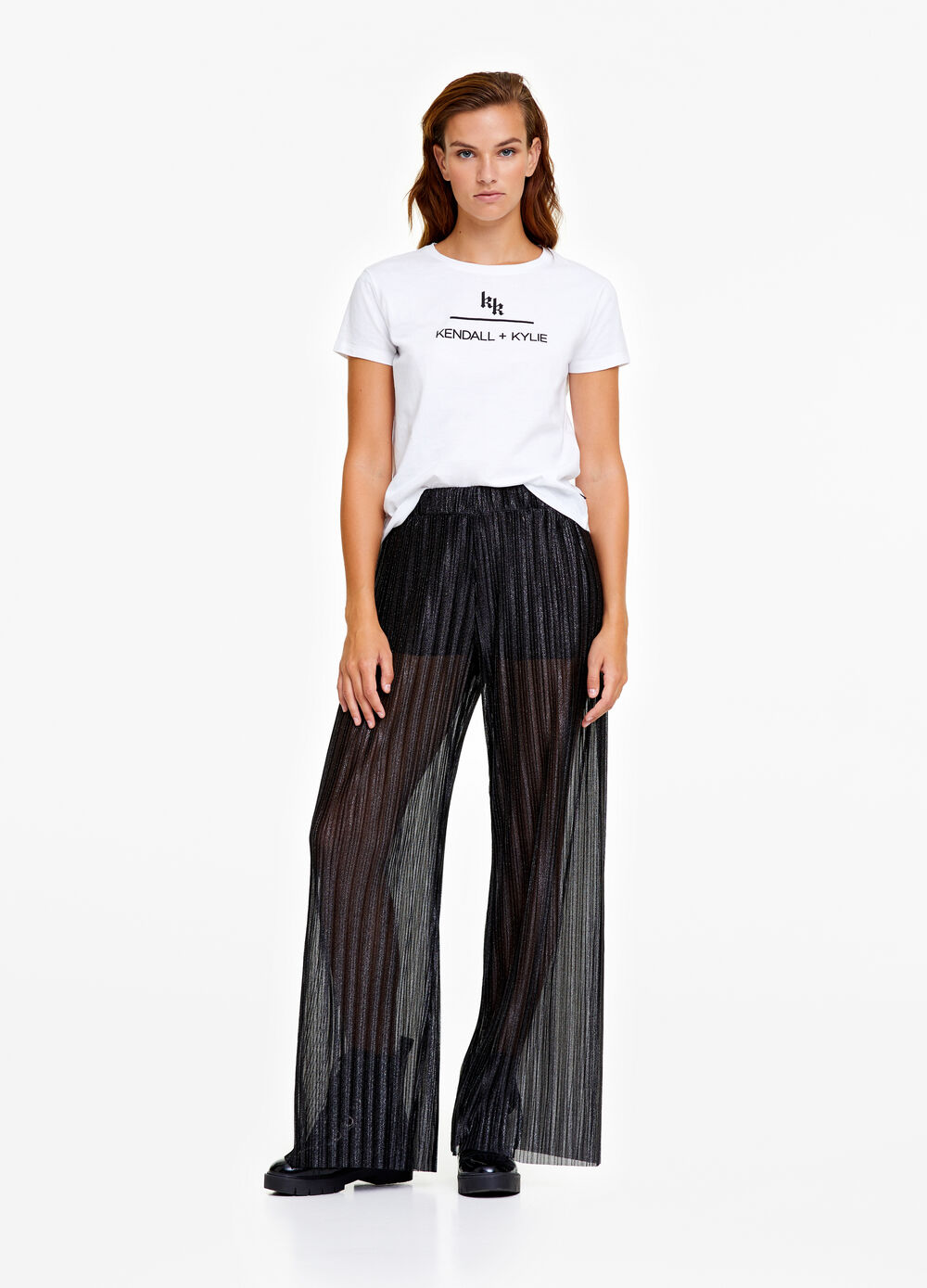 K+K for OVS trousers with creases