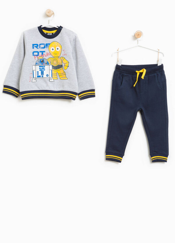 Cotton and viscose Star Wars tracksuit | OVS