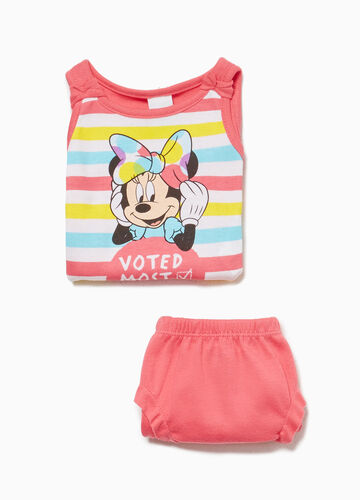 Completo intimo stampa Minnie