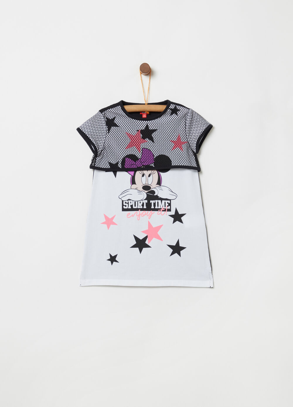 Disney Minnie Mouse dress with pattern