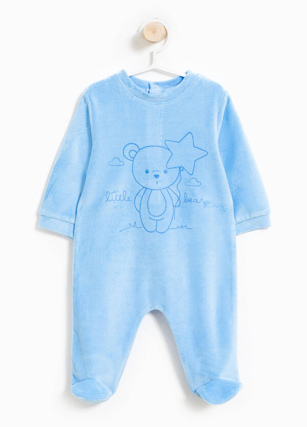 Cotton blend printed sleepsuit | OVS