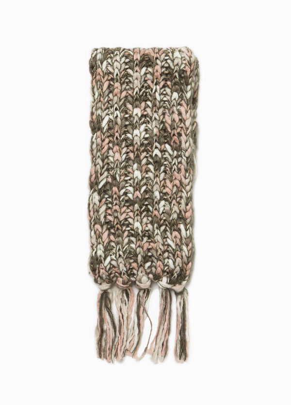 Braided scarf with fringe | OVS