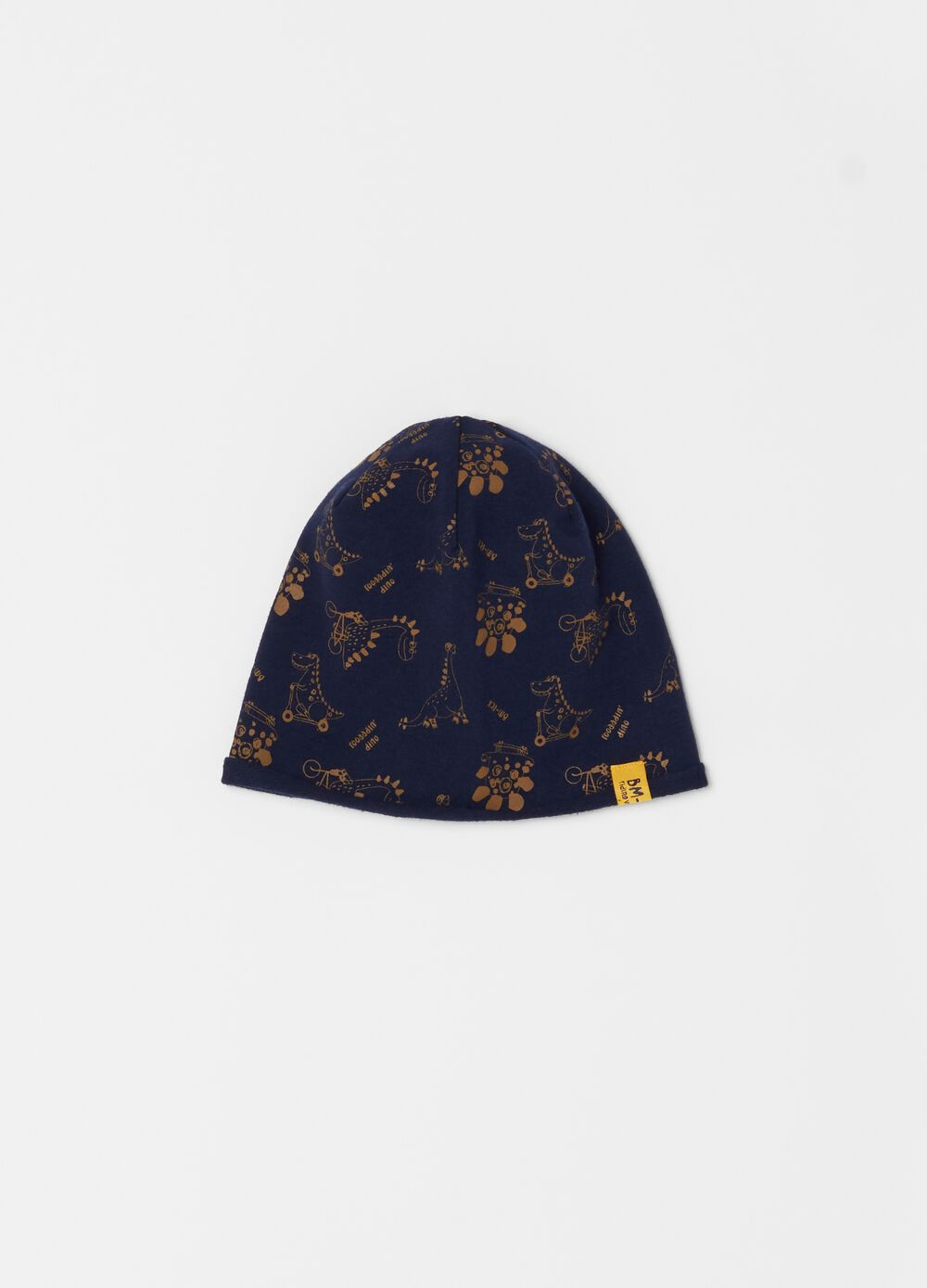 Patterned jersey hat