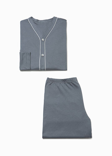 100% cotton pyjamas with buttons