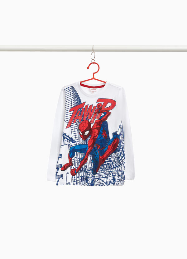 Spiderman T-shirt in 100% cotton