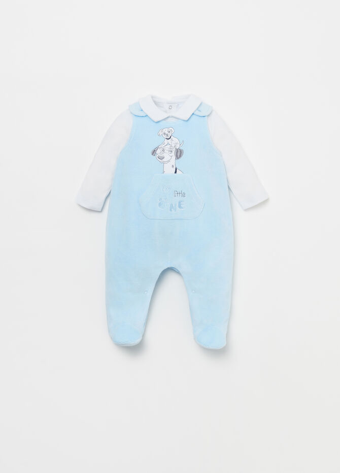 Disney Baby T-shirt and dungarees set