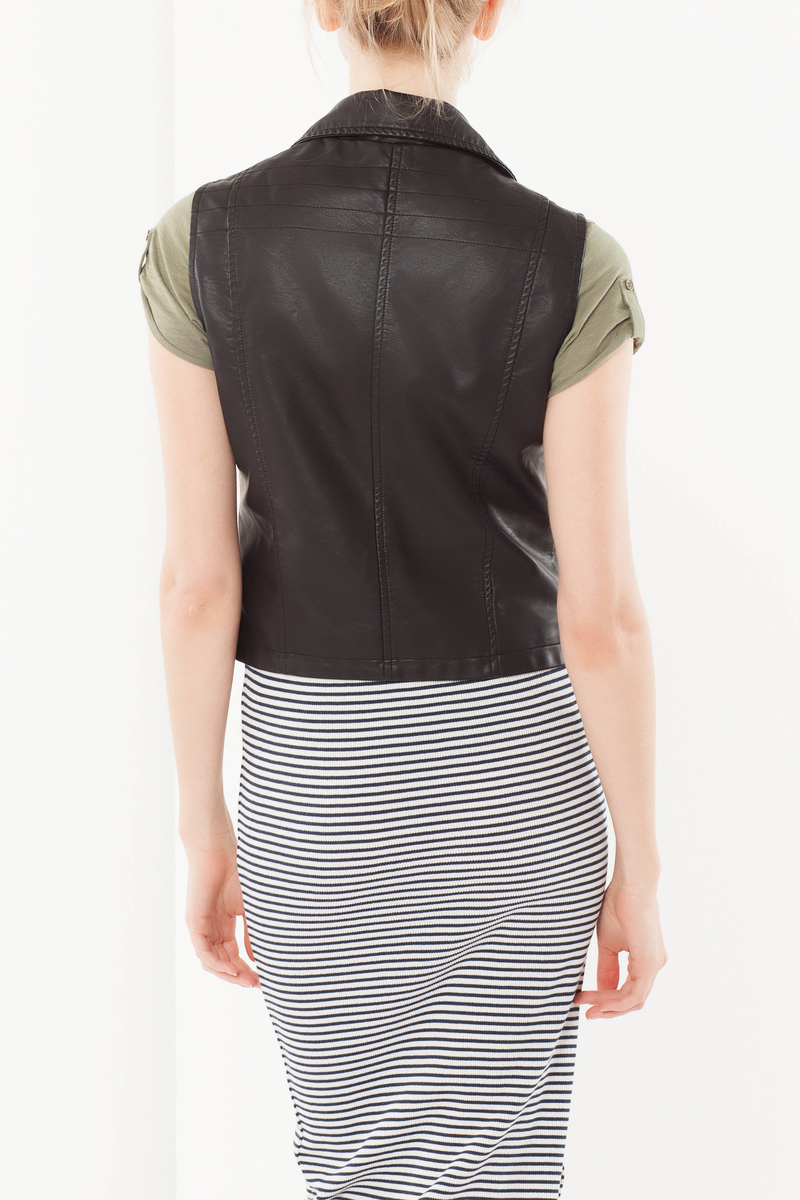 Vest with lapels image number null