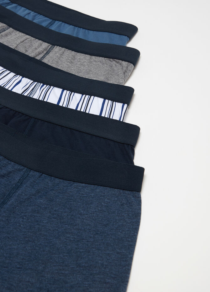 Five-pack boxer shorts in 100% cotton