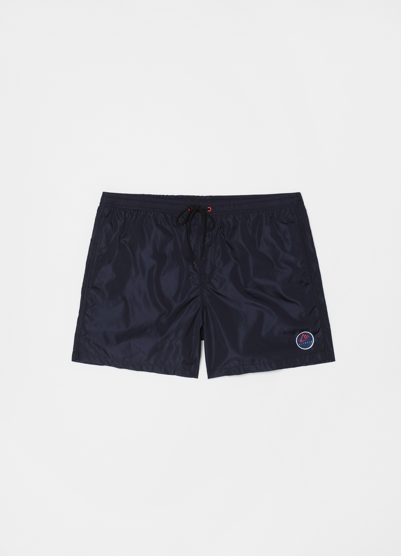 Swimming trunks in Econyl with drawstring image number null