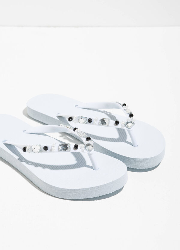 Diamanté thong sandals | OVS