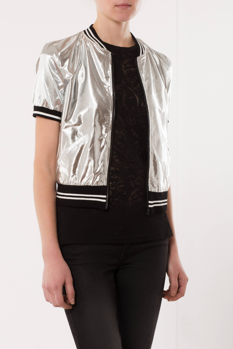 Bomber con zip image number null