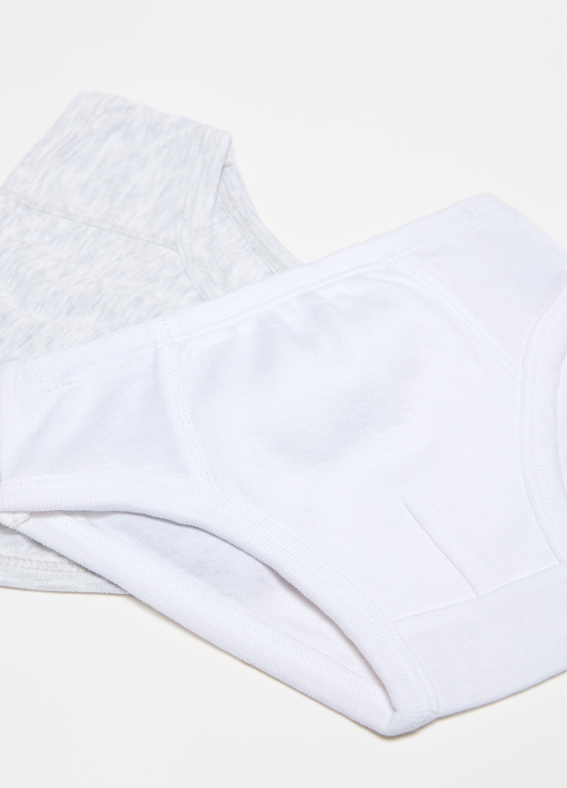 Two-pack organic cotton briefs image number null