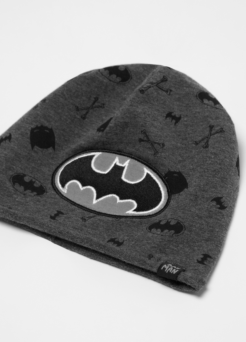Cappellino in French Terry Batman image number null