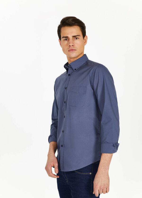 Casual button-down shirt