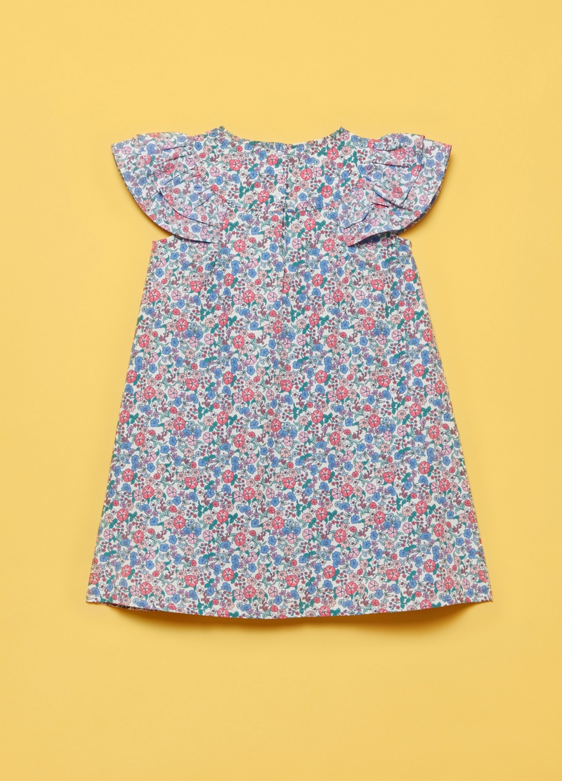 Dress with all-over floral print image number null