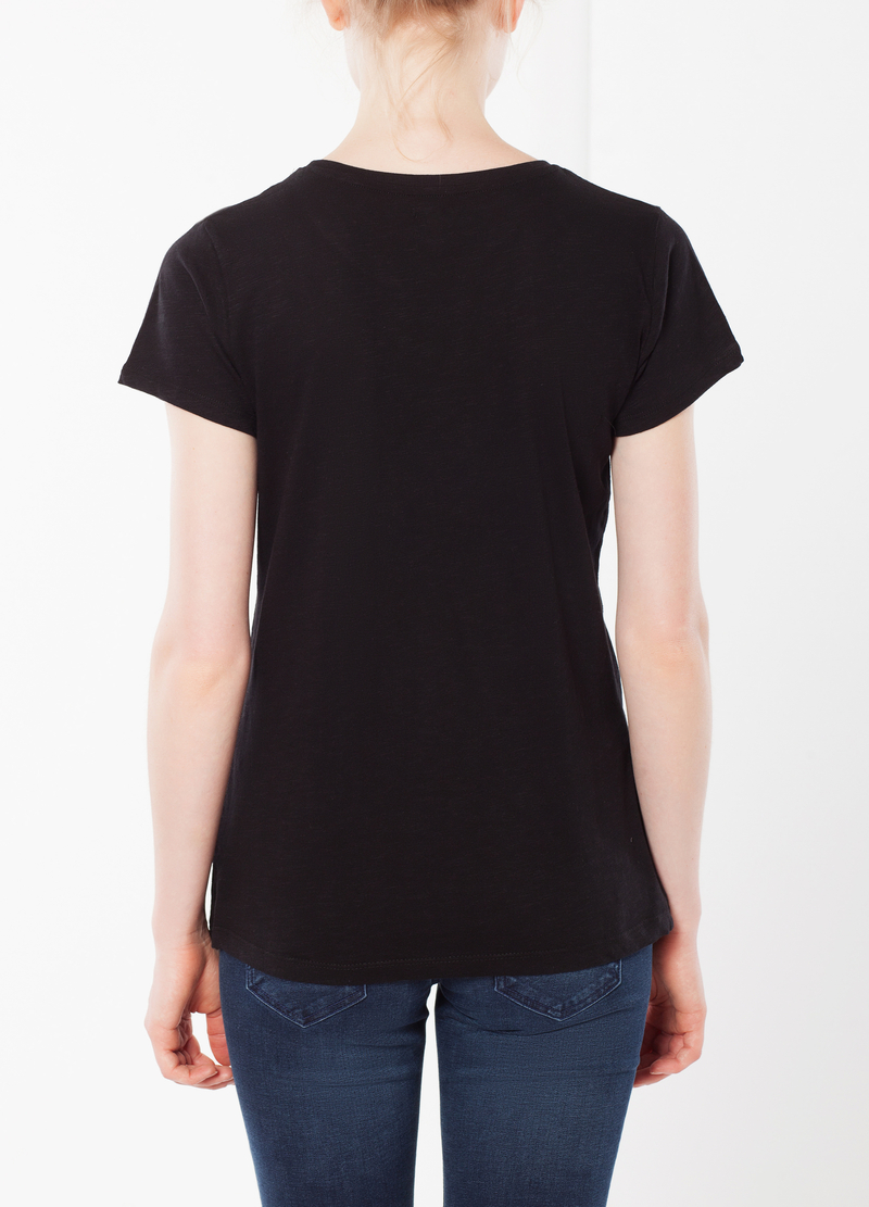 T-shirt with fluo details image number null