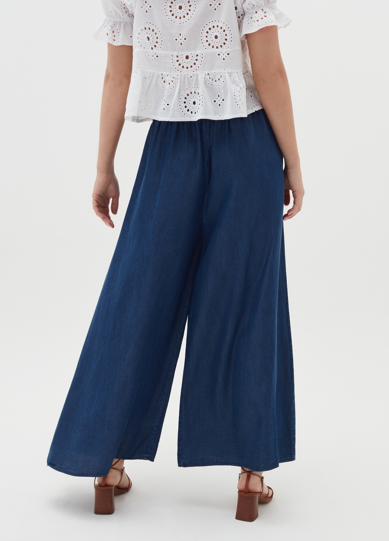 Pantaloni flare fit in Lyocell Alys image number null