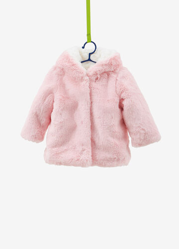 Faux fur heavy jacket