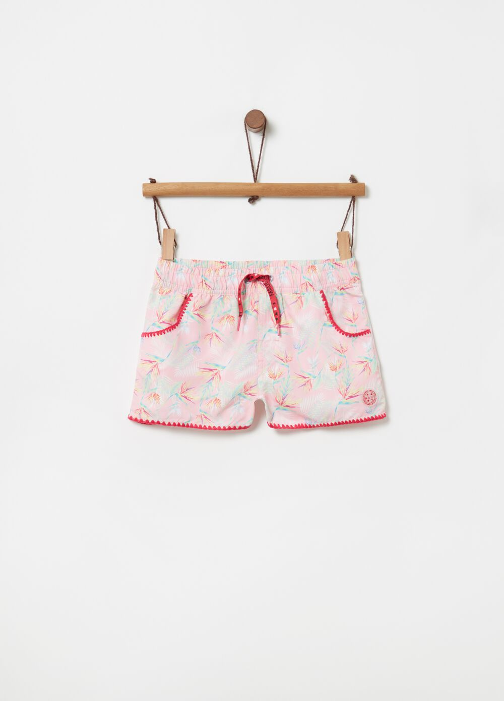 Foliage beach shorts by Maui and Sons