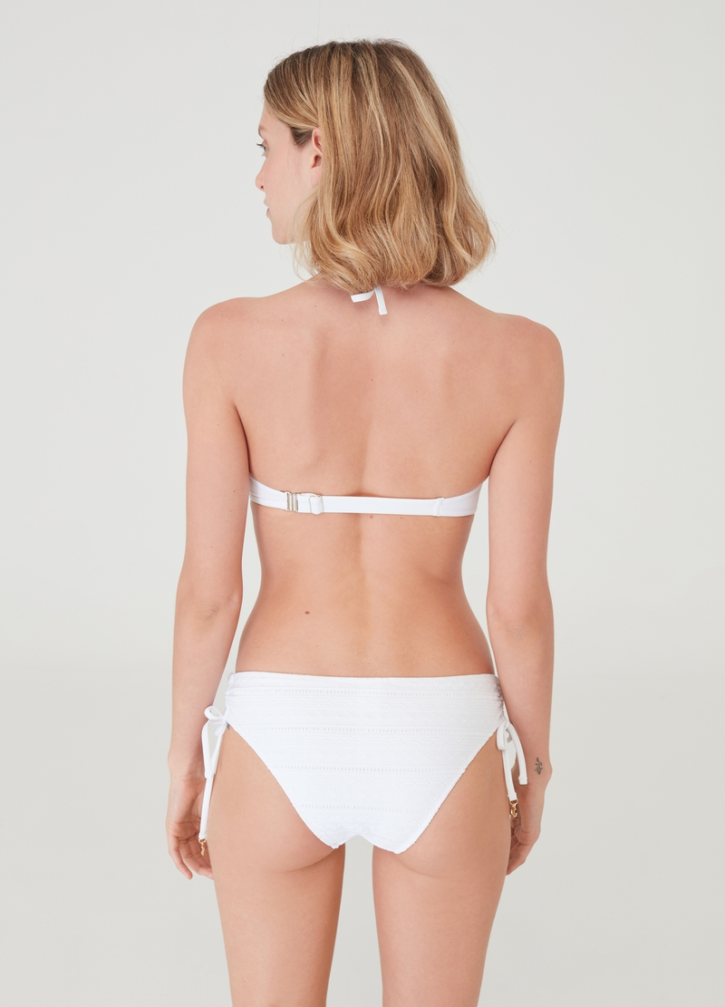 Bikini briefs with drawstring and charms image number null