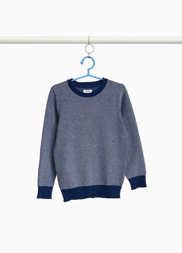 100% cotton knitted pullover