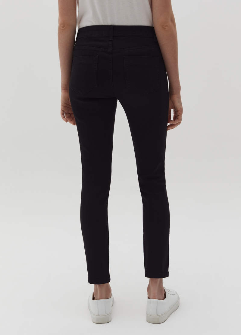 Skinny-fit trousers with five pockets image number null