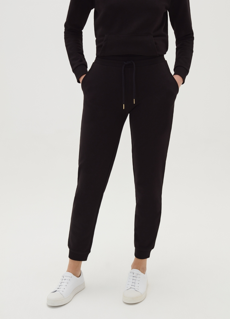 Joggers with drawstring and pockets image number null
