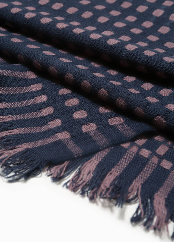 Polka dot patterned pashmina | OVS