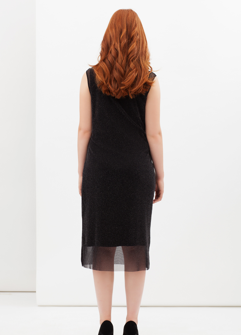 Curvyglam dress with lurex image number null