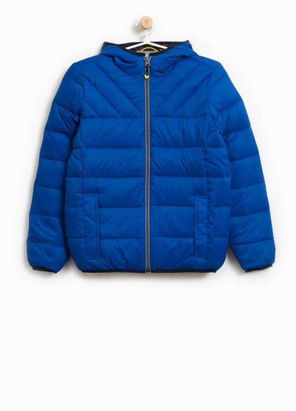 Jacket with trimmed hood | OVS