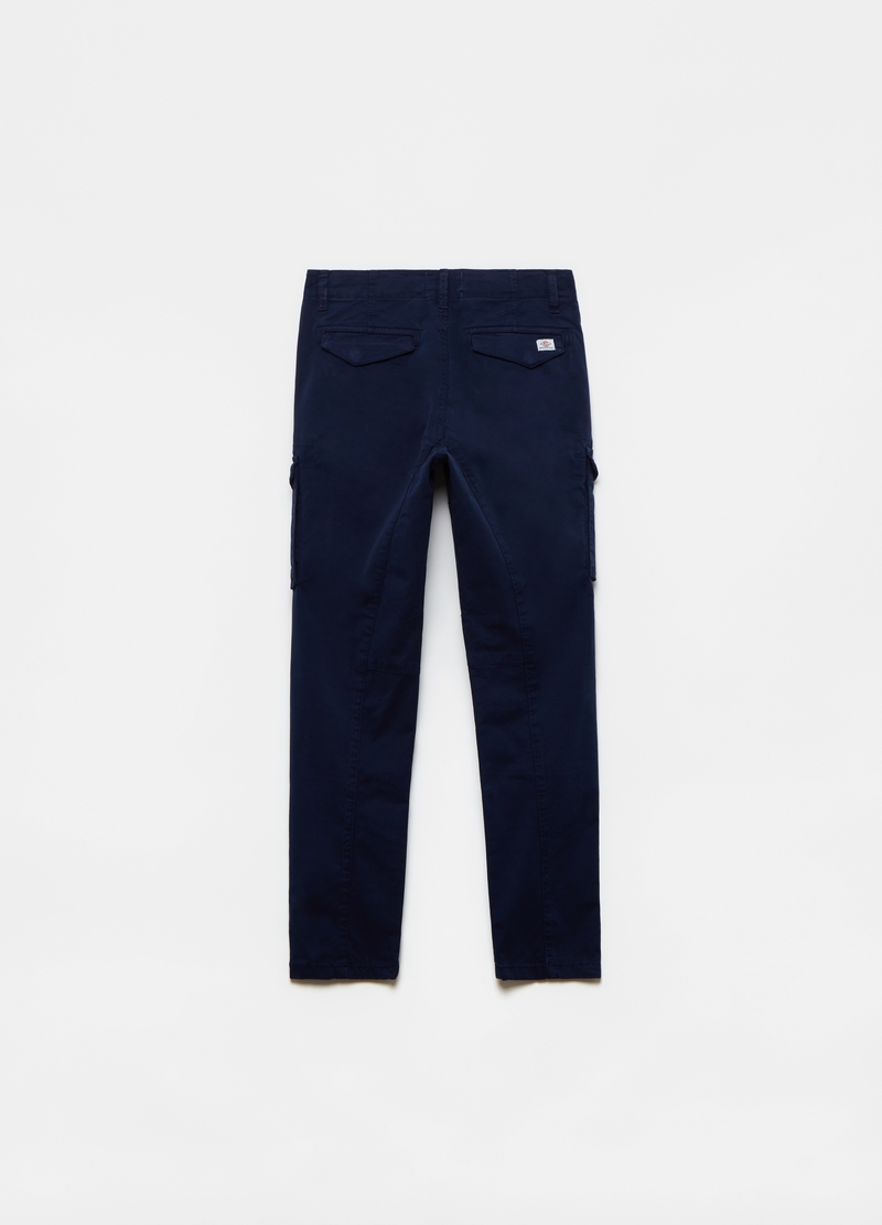 Cargo trousers in twill image number null