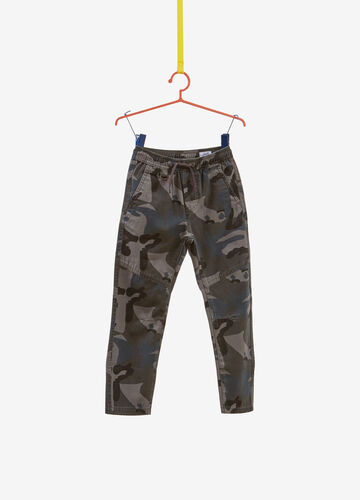 100% cotton camouflage trousers