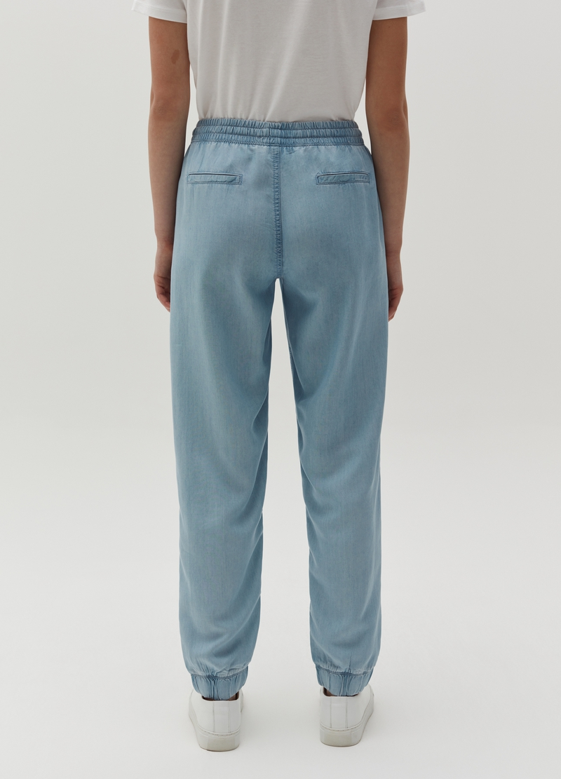 Joggings in Lyocell con coulisse image number null